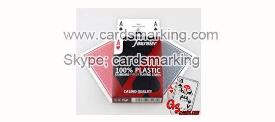 Fournier unsichtbare Tinte Barcode Marking Pokerkarten