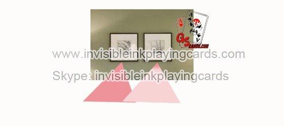 3D Wandmalerei mit IR markierten Karten Poker Kamera
