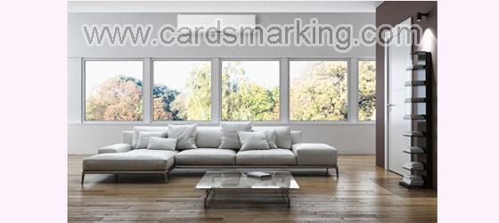 Markierte Karten IR-Kamera in der Klimaanlage versteckt