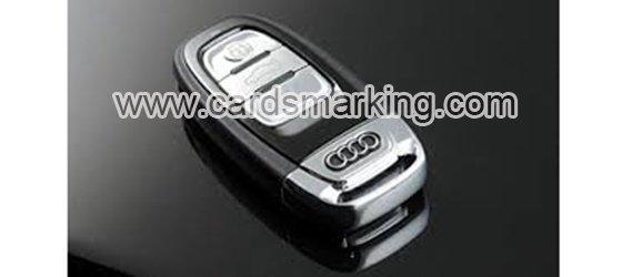 Autoschlüssel Barcode markiert Decks Kamera