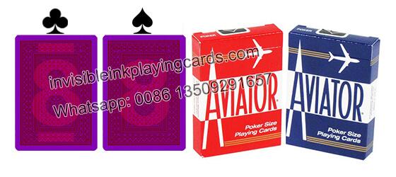 Aviator Jumbo Index Markierte Spielkarten