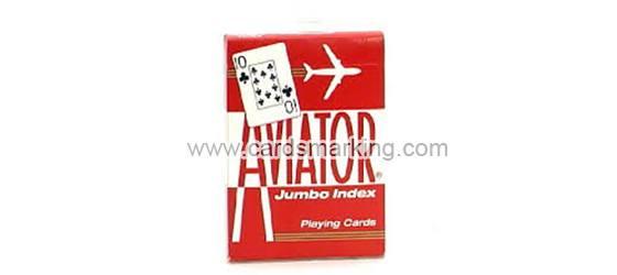 Gute Qualität rote Flieger-Barcode-markierte Karten
