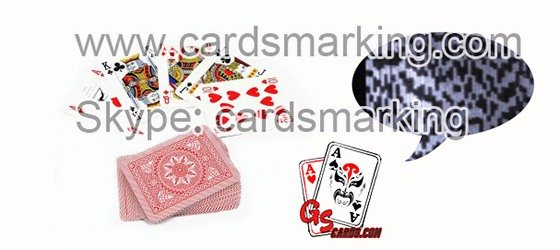 Baccarat Scanning Barcode Invisible Ink Marked Modiano Cards