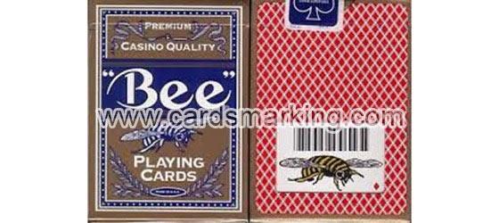 Plastik überzogene Bee-Spielkarten