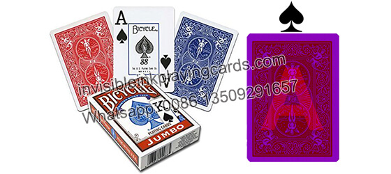 how to read marked bicycle cards