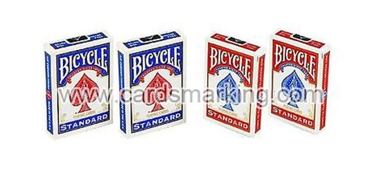 Blaue Bicycle-Standardgesicht-Schürhaken-Karten