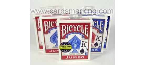Kunststoff Bicycle Blue Deck Of Poker Karten