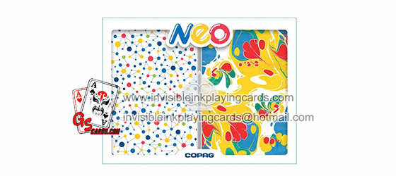 Copag Neo Invisible Ink Glasses Poker
