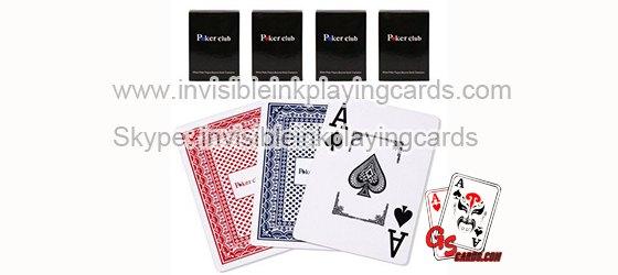 Copag Poker Club Markierte Spielkarten