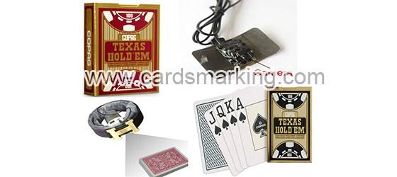 Copag Unsichtbarer Tinten Barcode Markierte Karten