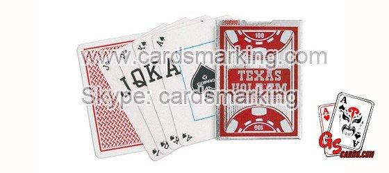 Copag Barcode Kennzeichnung von unsichtbaren Tintenkarten