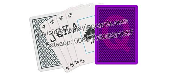 Copag Texas Holdem Peek Index markierte Spielkarten