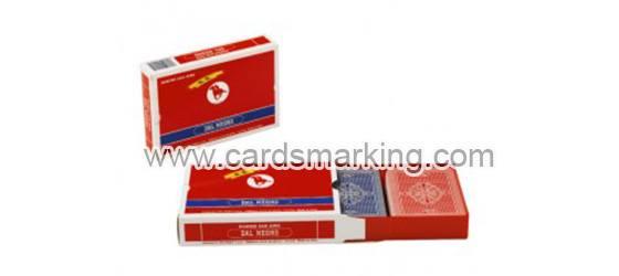 Dal Negro San Siro Markierte Spielkarten