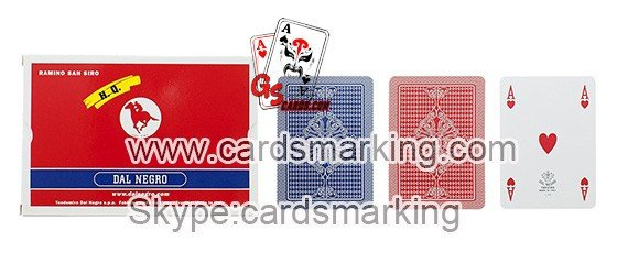 Dal Negro San Siro Poker Karten spielen