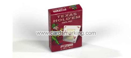 Dal Negro Texas Holdem NTP markierte Spielkarten
