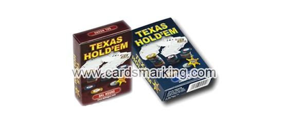 Dal Negro Texas Holdem Markierte Spielkarten