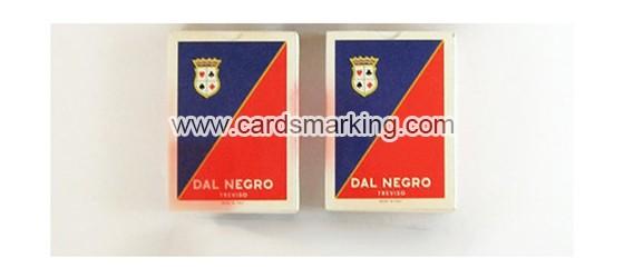 Dal Negro Treviso markierte Spielkarten