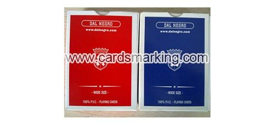 Unsichtbare Tinte Dal Negro Markierte Spielkarten zum Verkauf