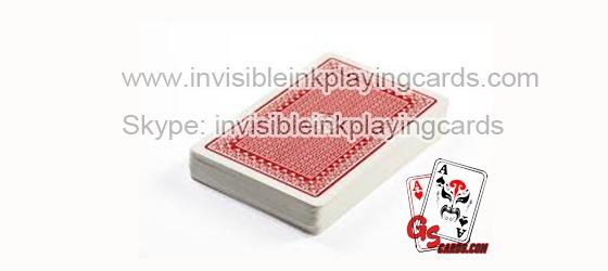 Barcode Markierte Karten für Poker-Kamera