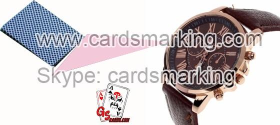 Markierte Karten Uhr Poker-Scanner