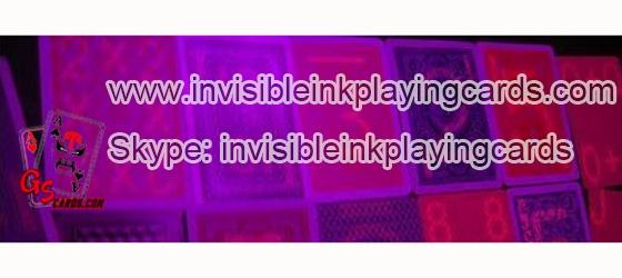 Fluoreszierend Markierte Spielkarten