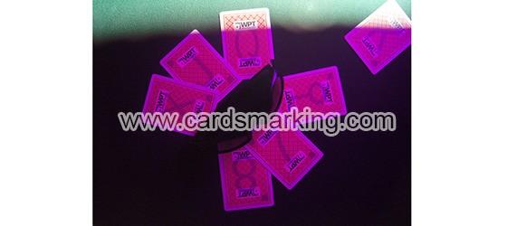Wie man markierte karten von Fournier WPT Poker liest