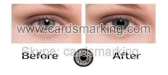 grau augen unsichtbare tinten kontaktlinsen zu verkaufen