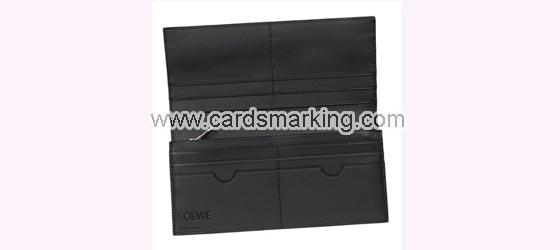 Markierte Barcode Brieftasche Karten Scanner