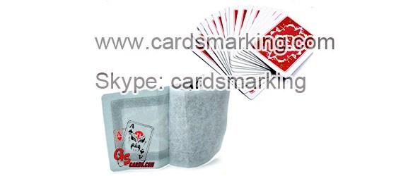 Unsichtbare Tinte Induktive Markierte Pokerkarten