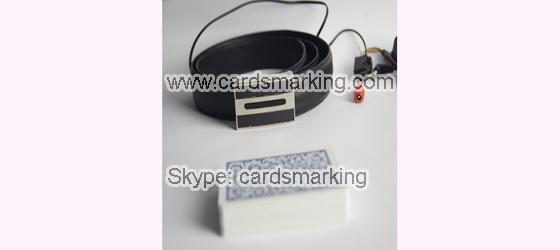 Leder Gürtel Poker Scanner Kamera