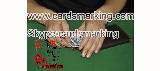 Leder Geldbörse Karten Exchanger Poker Gerät