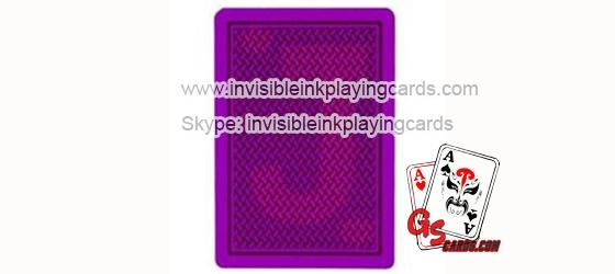 leuchtende unsichtbare Tinte Markierte Poker Karten