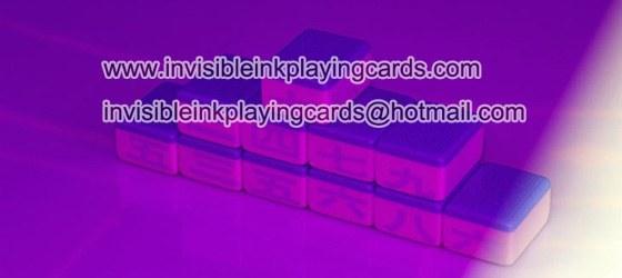 Unsichtbare Tinte Markiert Mahjong