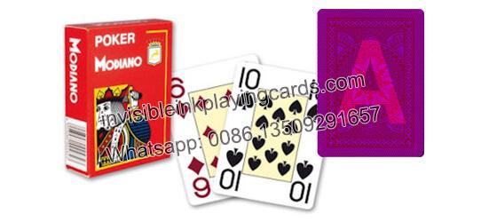 Modiano Cristallo Markierte Spielkarten