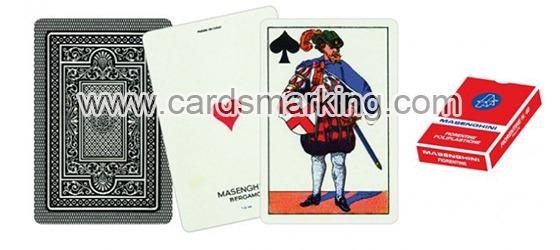 Masenghini Dal Negro Piacentine Markierte Spielkarten
