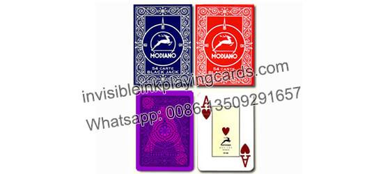 Modiano Blackjack Markierte Spielkarten