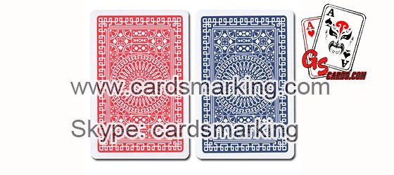 Edge Side Invisible Ink Marked Cards In Poker Games