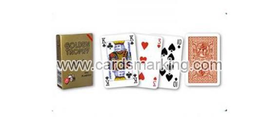 Golden Trophy Spielkarten von Modiano
