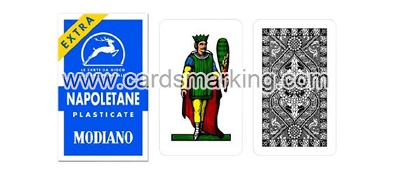 Modiano Napoletane Markierte Spielkarten