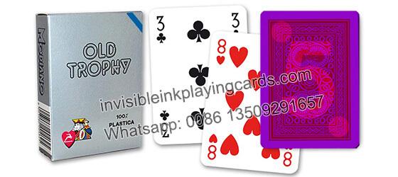 Modiao Old Trophy Markierte Spielkarten