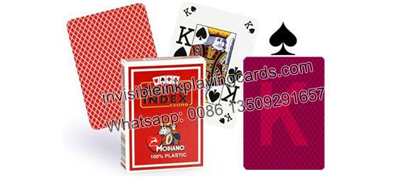 Modiano Poker Index Markierte Spielkarten