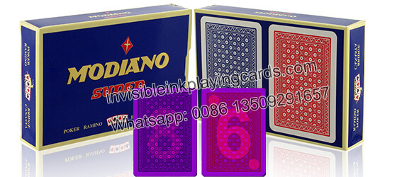 Modiano Super Fiori 2 markierte Spielkarten