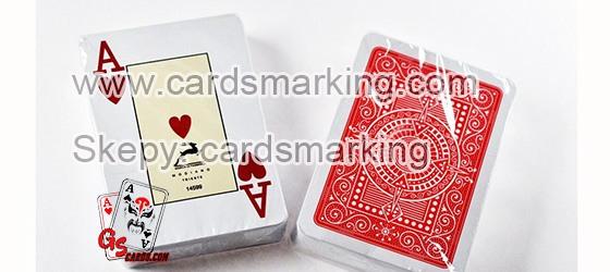 spezielle unsichtbare Tinten-Modiano-Markierte-Karten für Poker-Analysator
