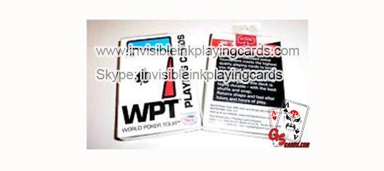 Plastik Leuchtende Modiano WPT Markierte Karten