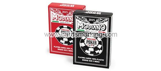 Modiano WSOP Markierte Spielkarten
