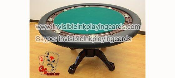Pokertischkarten-Linse für markierte Barcode-Karten