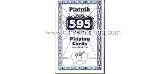 Unsichtbare Tinte Piatnik 595 Leuchtende Markierte Karten