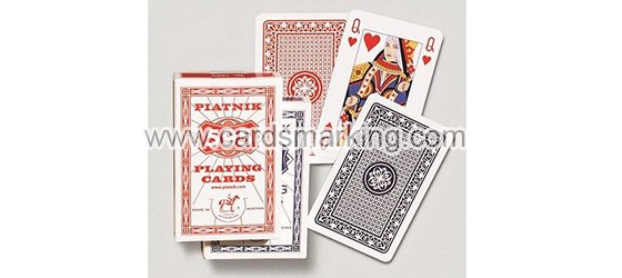 Kontaktlinsen Markierte Karten von Piatnik 595 Poker
