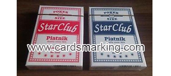 Piatnik Club Star Leuchtend Markierte Karten