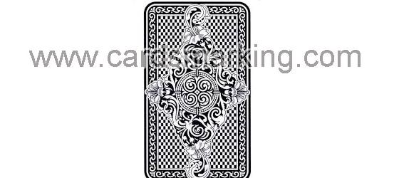 Leucht markierte Piatnik Nr.1808 Schwarze Karten